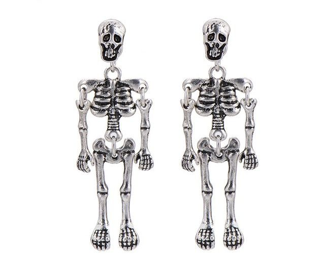 ARETES PAR ESQUELETOS – Esqueleto Shop Monterrey, Mexico