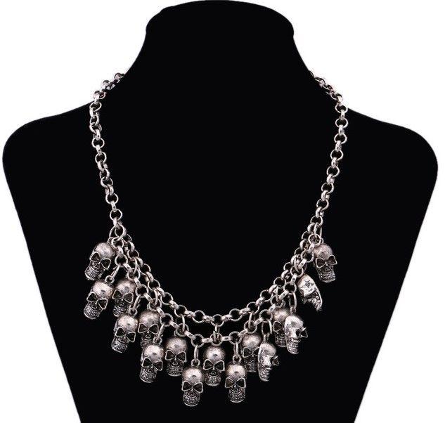 baratas para descuento ab2c6 29f74 Collar de Calaveras